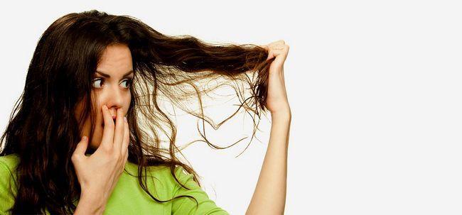 10 Super Hair Care Tipps für strapaziertes Haar Foto