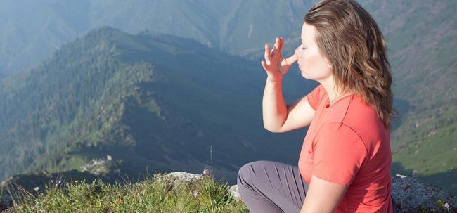 10 Effektive Yoga Poses Angst zu heilen Foto