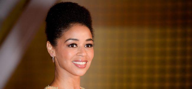 10 elegante Hochsteckfrisur Frisuren für dunkelhäutige Frauen Foto