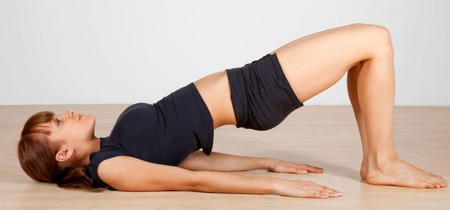 10 Minute Yoga Routine, Stress abzubauen Yourself Foto