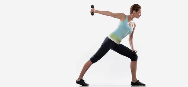 10 Muscle Toning Übungen für Frauen Foto
