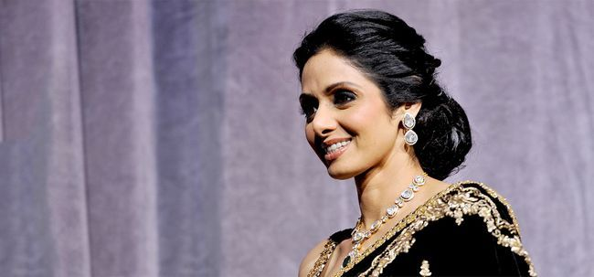 10 Bilder von Sri Devi ohne Make-up Foto