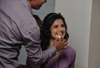 Zarine khan nach dem Dreh