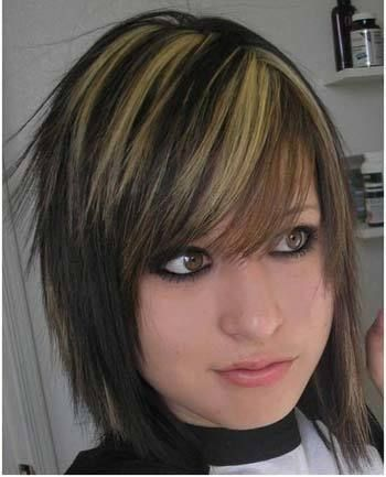 emo Frisuren für kurzes Haar