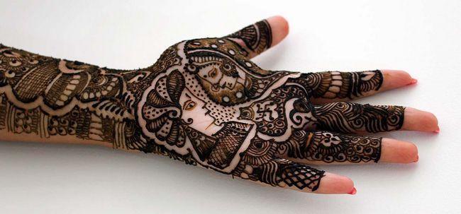 10 Stunning Mehndi Designs für die Arme, Foto