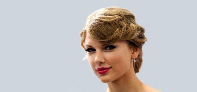 10 Stunning Taylor Swift Updo Frisuren Foto