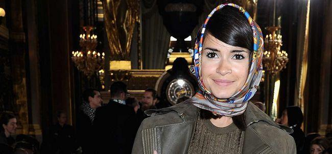 10 stilvolle Haar Schal Frisuren Sie zu inspirieren Foto