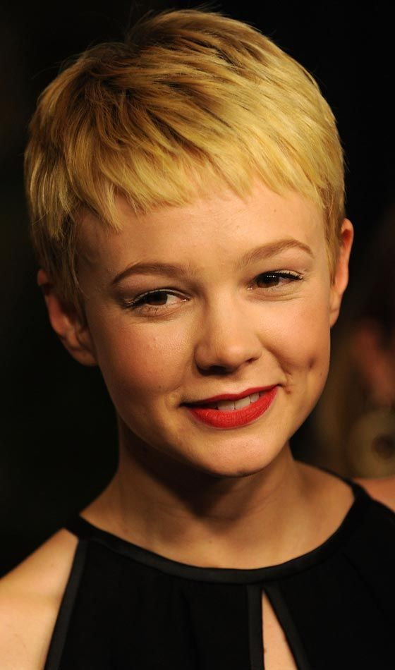 Sexy Blondine Frisur