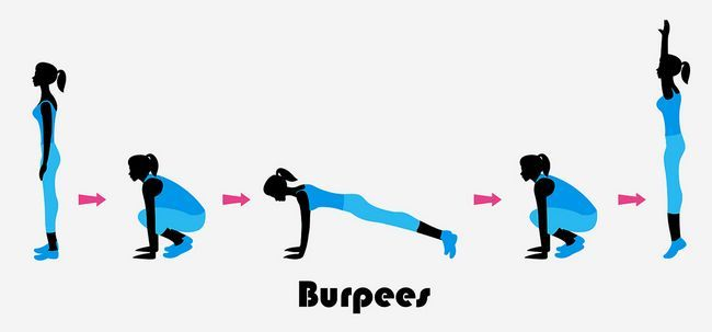 10 wunderbare Vorteile des Trainings Burpee Ihr Körper zu stärken Foto