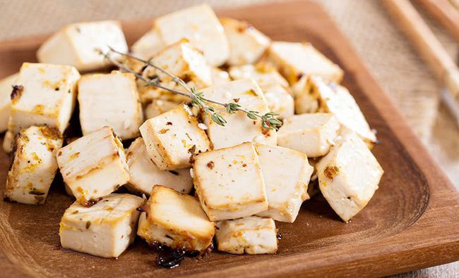 Gebackene Tofu