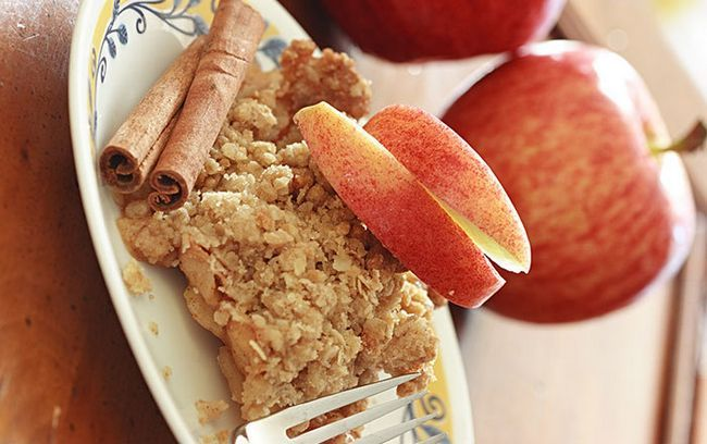 Spiced Apple-Crisps