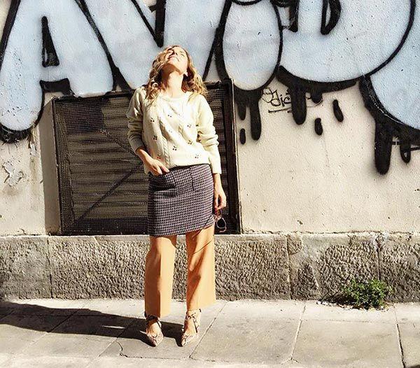 Röcke über Hose