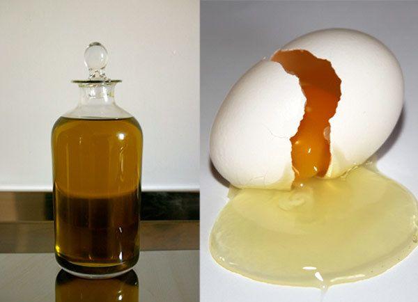 Mandelöl für krauses Haar