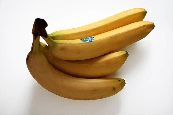 Banane Haarmaske für krauses Haar
