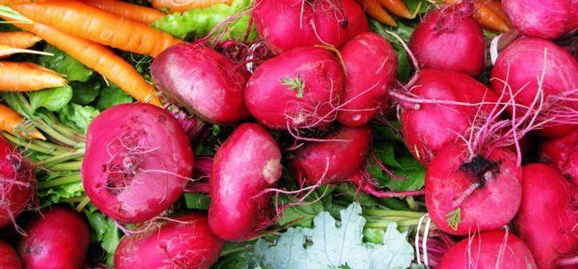 12 Wunderbare Gemüse für das Haarwachstum Foto
