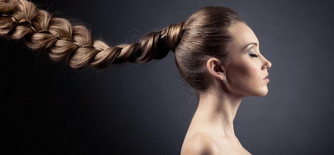 13 einfache Tipps zu erhalten und pflegen Dickes Haar Foto