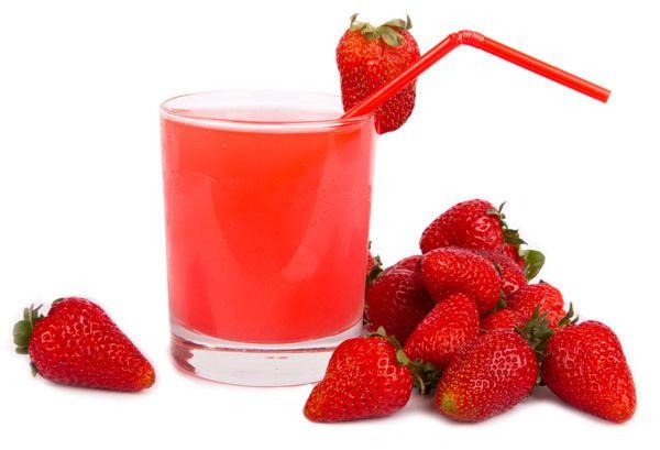 Mashed Erdbeeren