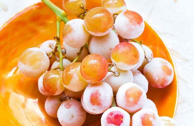 Ersetzen Sie Ihre Lieblingssüßigkeiten mit gefrorenen Trauben