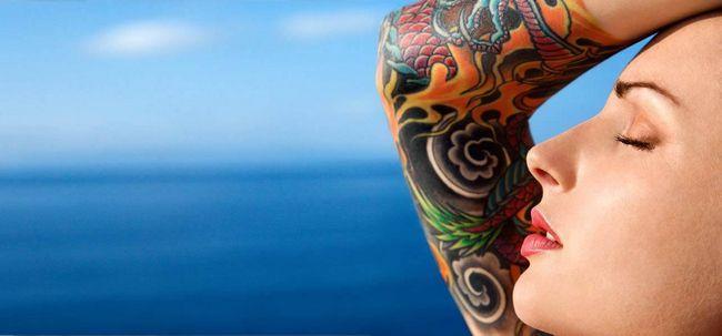 19 Sicherheitsvorkehrungen sollten Sie darauf vor und nach dem Aufstehen ein Tattoo Foto