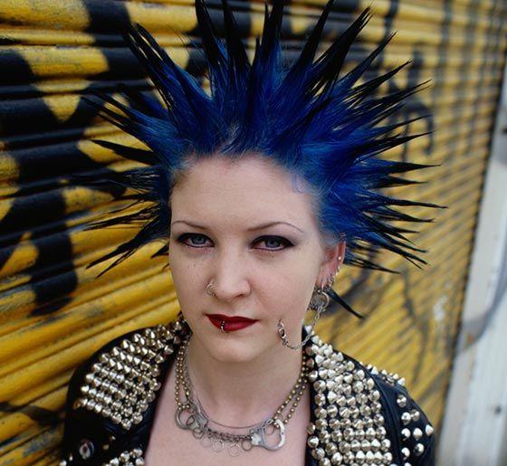 Kobalt-Blau-Freiheit Spikes