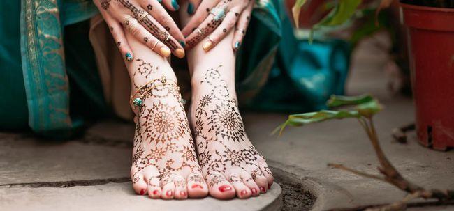 20 Hervorragende Braut Mehendi Designs für Ihren Hochzeitstag Foto