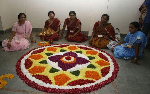 rangoli Entwürfe für Diwali