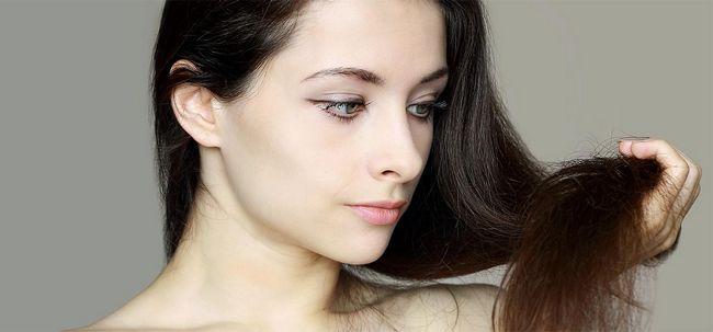 3 Effektive Selbst gemachte Spülungen für trockenes Haar Foto