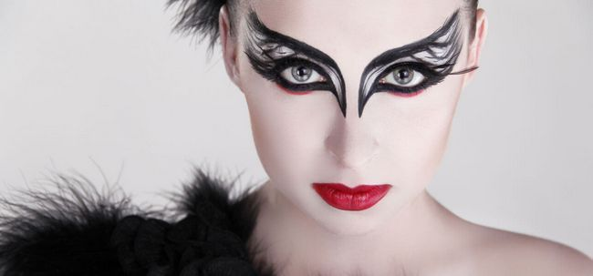 3 Tricks zu tun Black Swan Make-up Foto