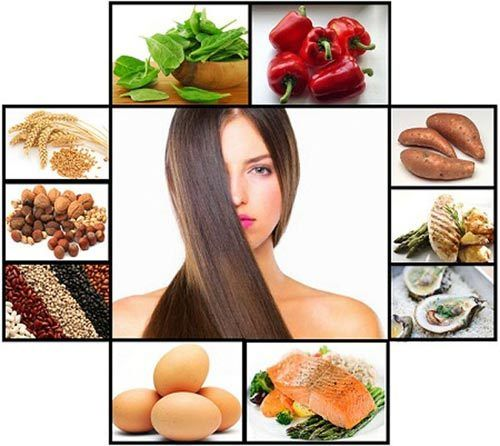 Nährstoffe für das Haarwachstum
