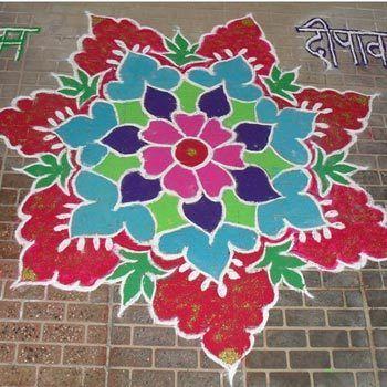30 Einfach und leicht Rangoli Designs dieser festlichen Jahreszeit To Try Foto