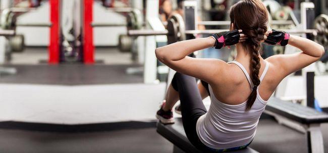 4 Effektive Ab Cruncher Übungen perfekt durchtrainierte abs erhalten Foto