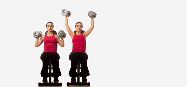 4 Effektive Übungen, um Ihre Schultern zu stärken Foto