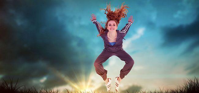 5 erstaunliche Vorteile der Frosch springt Übungen Foto