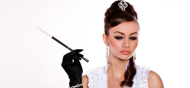 5 Noble Hollywood inspirierte Make-up-Ideen Foto