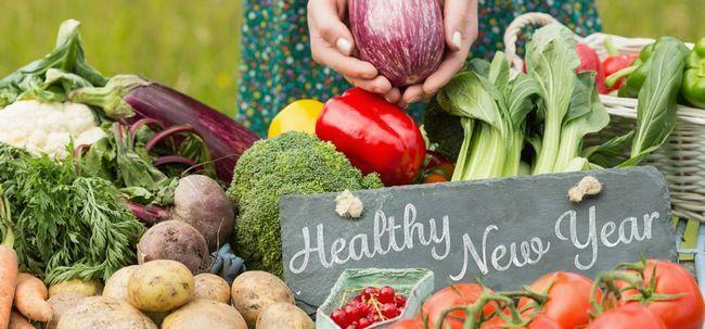 5 Eat-Gesunde Auflösungen Sie beachten sollten dieses neue Jahr nehmen Foto