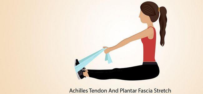 5 Effektive Übungen zur Behandlung von Foot Pain Foto