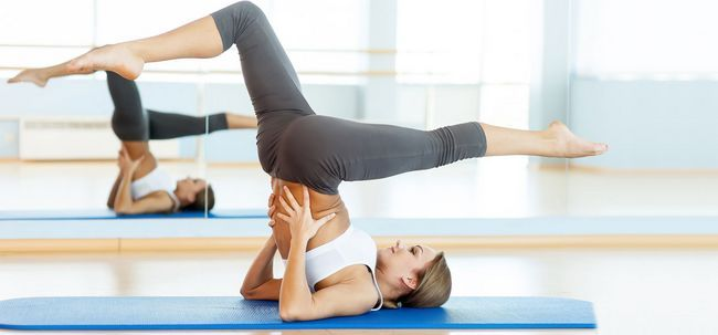 5 Effektive Yoga Poses Varizen-To-Treat Foto