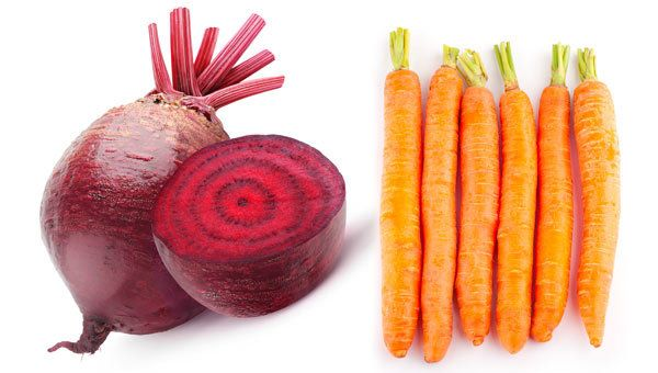 Rote-Bete-und Karottensaft