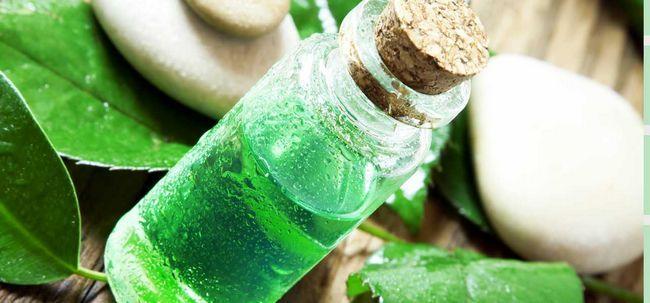 5 einfache Verfahren zur Verwendung von Teebaumöl Akne heilen Foto