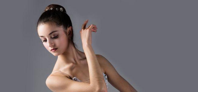 5 einfache Schritte zu tun Ballett Make-up Foto