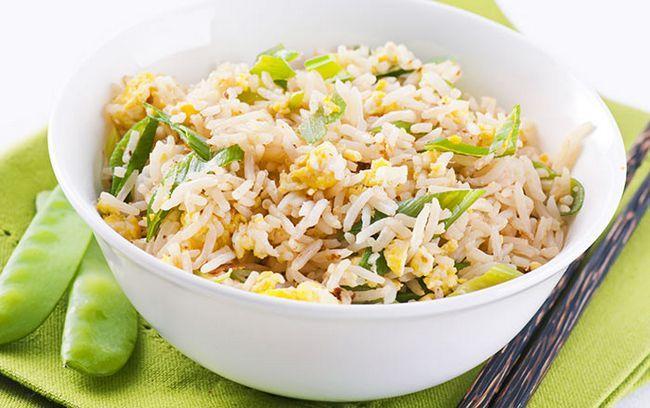 Einfache Egg Fried Rice