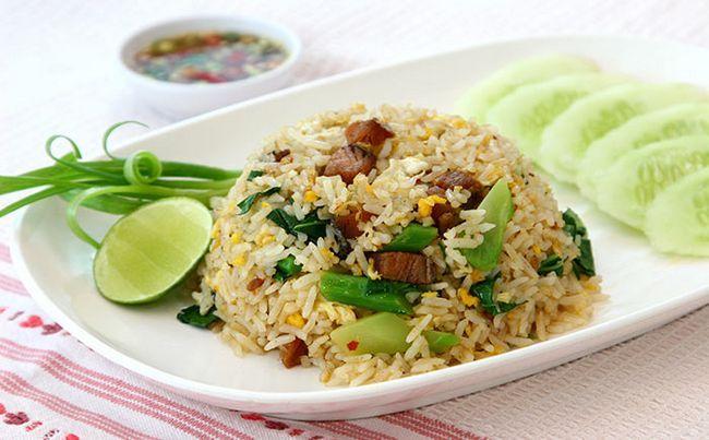 Oriental Egg Fried Rice