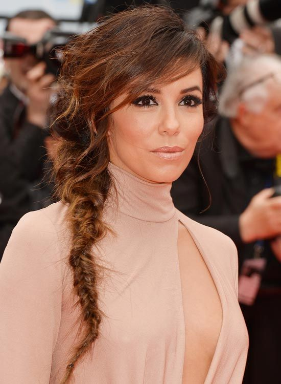 Messy-Tight-Fishtail-Braid-mit-razored-Side-Bang