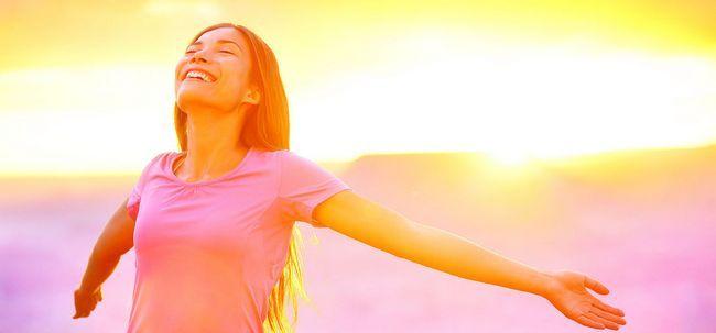 50 gute Gewohnheiten wirklich Happy People - Haben Sie diese haben? Foto