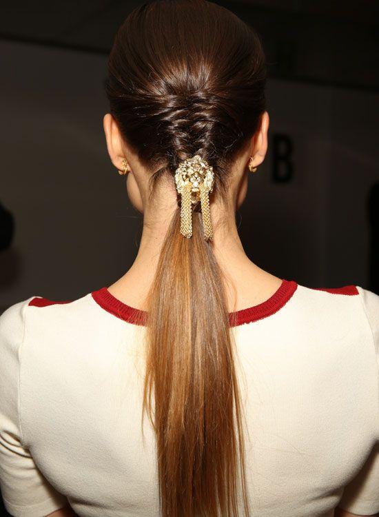 Half-n-Half-Hair-mit-Französisch-Braid-and-Pony