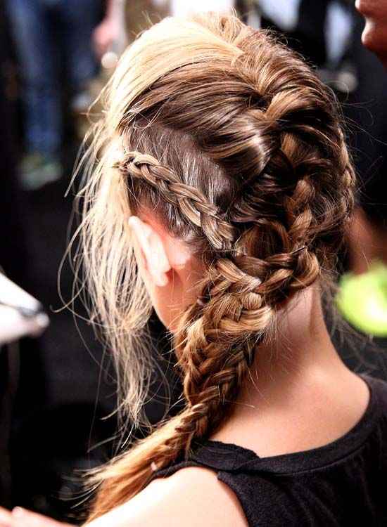 Middle-Braid