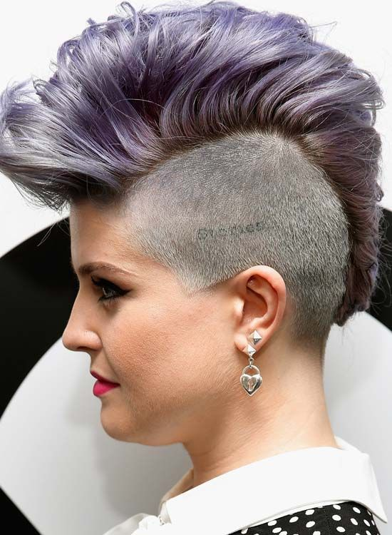 Hoch, -Wavy-and-Light-Lila-Mohawk