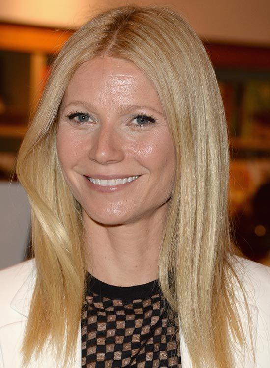 Goldene Blondes Haar mit Asymmetrische Schichten