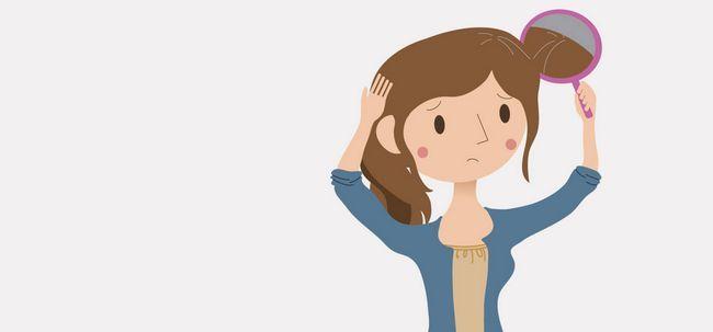 6 Ursachen für vorzeitige Vergrauung von Haar Foto