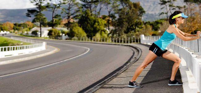 6 Effektive Ausdehnungen zur Behandlung von Shin Splints Foto